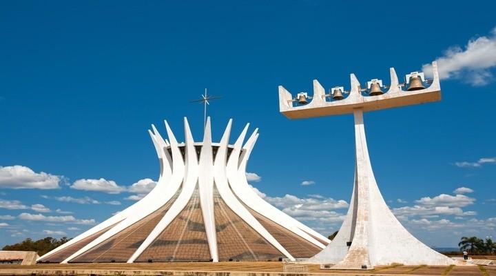 Metropolitan kathedraal in Brasilia