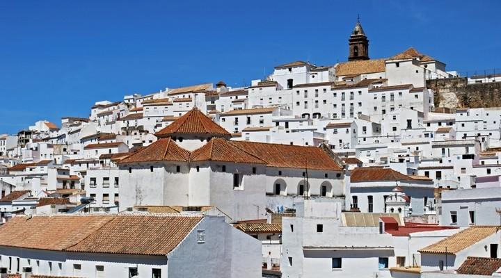 Witte huisjes Alcala de los Grazules Andalusie