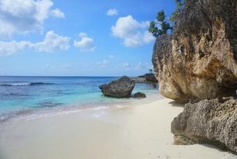 Het prachtige strand van Bonaire