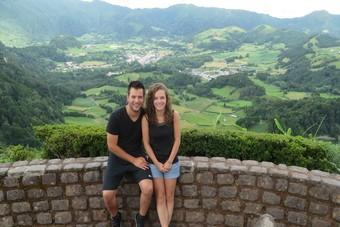 Op gympen tussen de bergschoenen in São Miguel