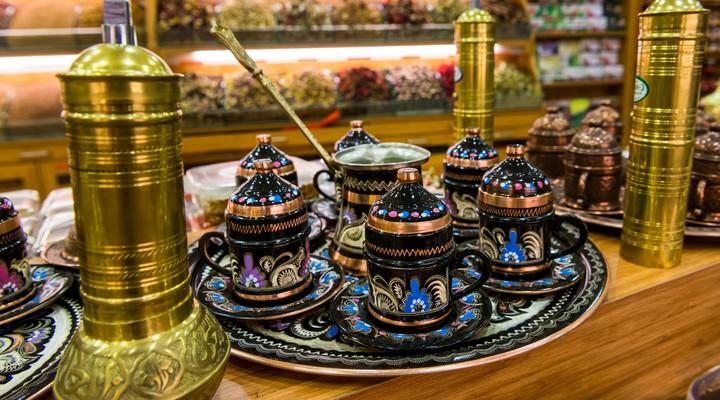 Thee drinken in Istanbul