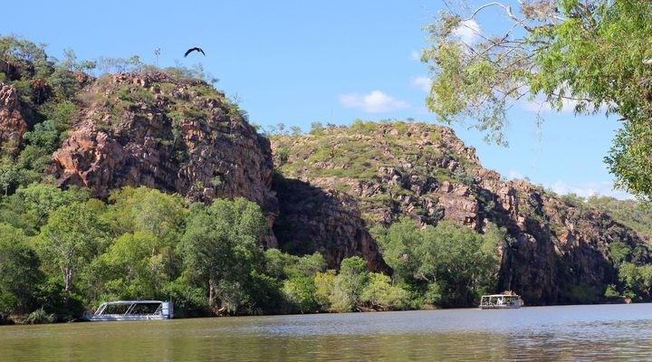 Desert River in Alice Springs