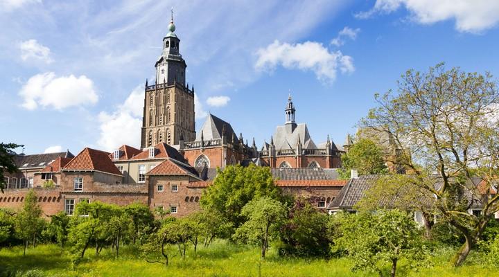Kerk in Zutphen, Nederland