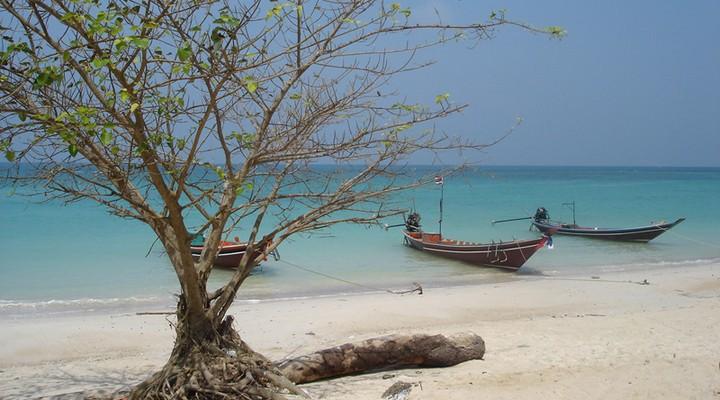 Strand Thailand, daar begon het voor Riksja