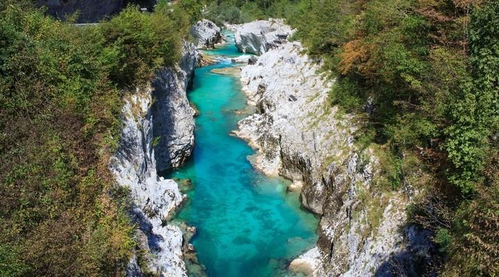 rivieren in Slovenie