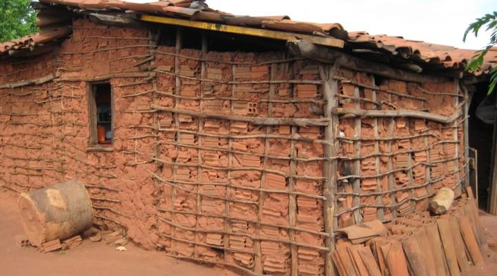 Huisje arme familie Brazilië