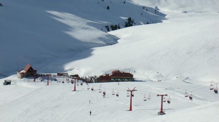Wintersportgebied in Roemenië