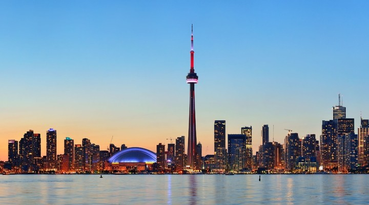 Skyline Toronto Canada