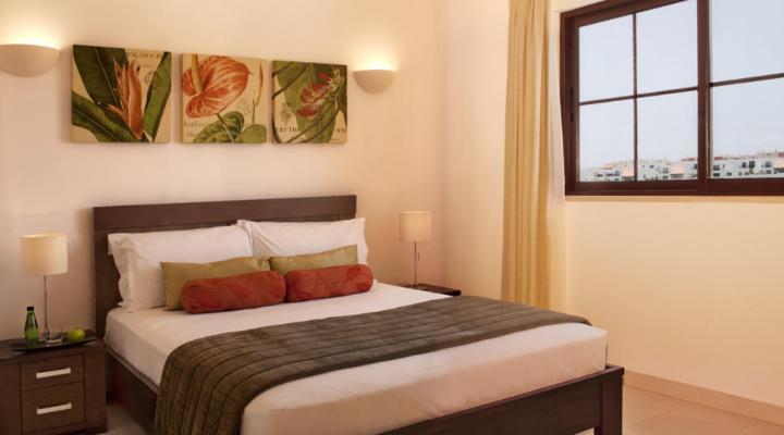 Slaapkamer van Suite