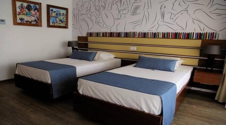 Slaapkamer van Junior Suite