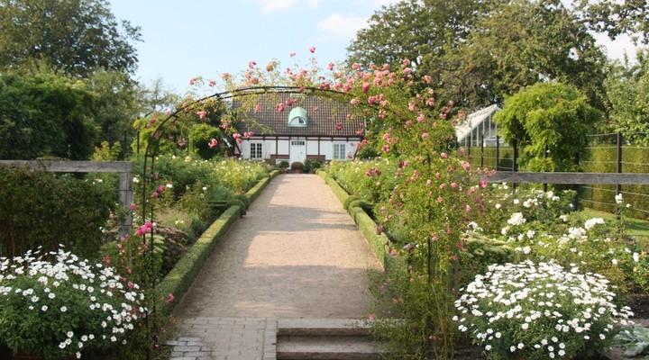 De tuinen bij Sofiero Castle