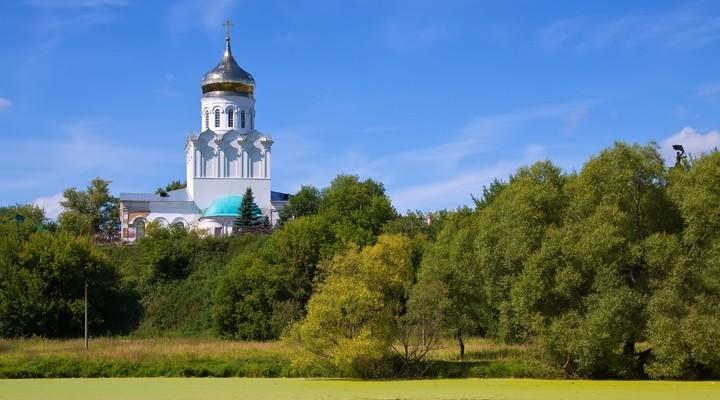 Kerstmis-kathedraal Aleksandrov, Rusland