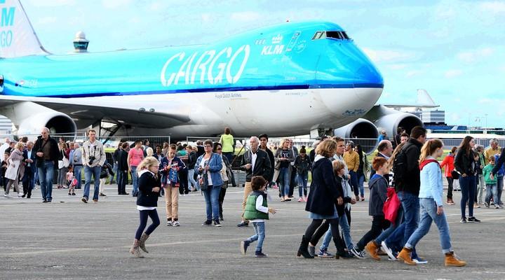 De feestelijke KLM Experience afgelopen weekend