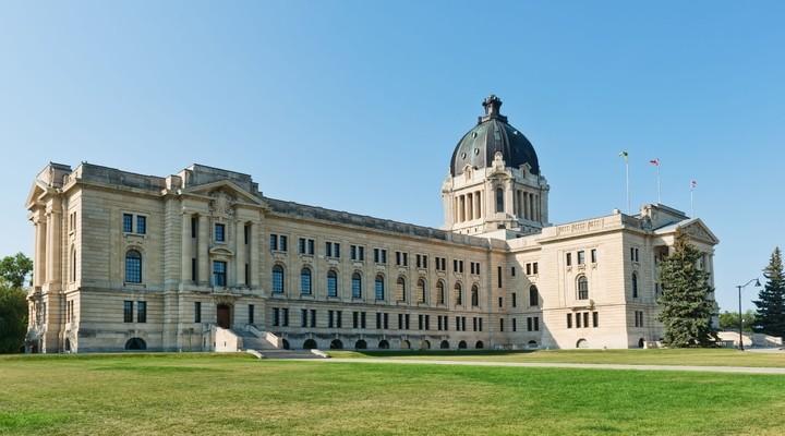 Saskatchewan Building Regina, Canada