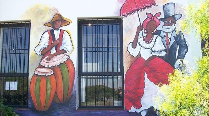 Muurschildering Uruguay