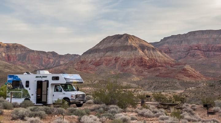 Een camper is het perfecte vervoersmiddel