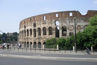 Colosseum, bezienswaardigheid Rome, Italie