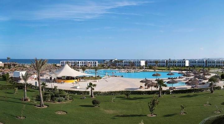Het ruime Gorgonia Beach Resort