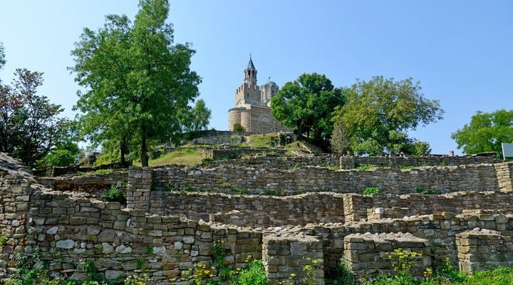 sarevets fort in Veliko Tarnovo