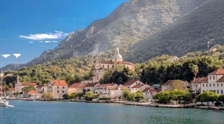 Het prachtige landschap van de Balkan