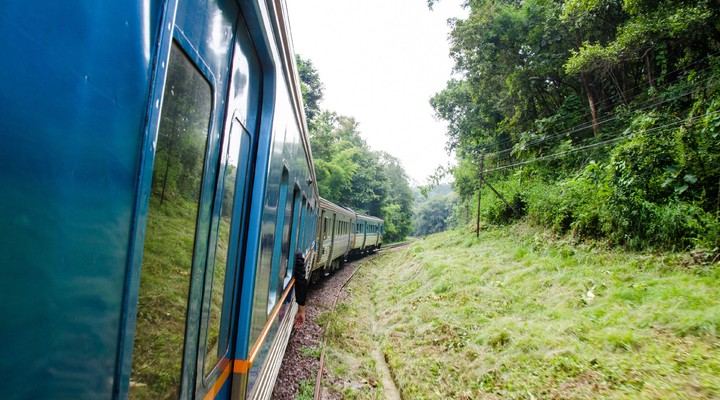 Trein van Chiang Mai naar Bangkok