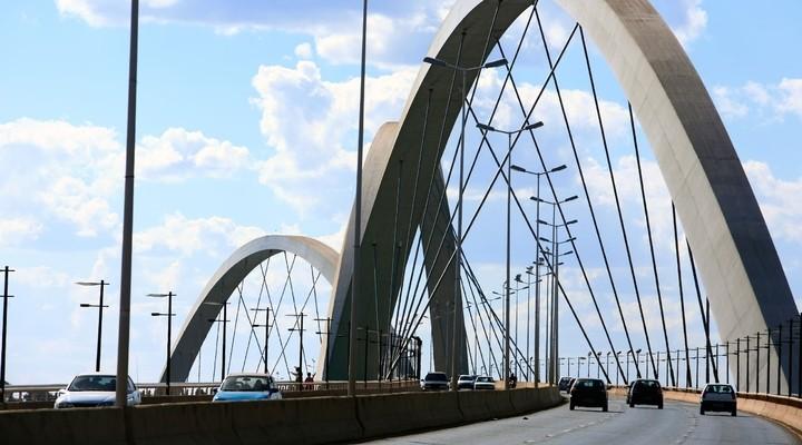 Juscelino Kubitschek brug in Brasilia