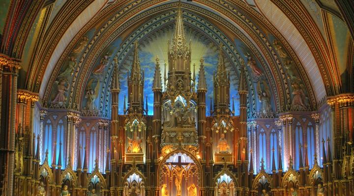 Basilique Notre-Dame Montreal
