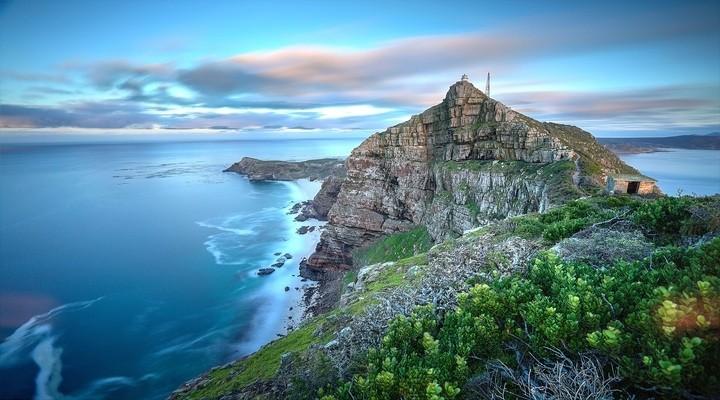 Kaappunt in Zuid-Afrika