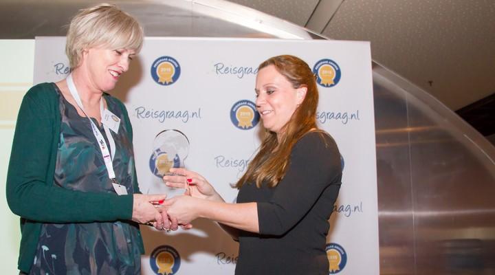 Rosetta Reizen met award Reisgraag.nl