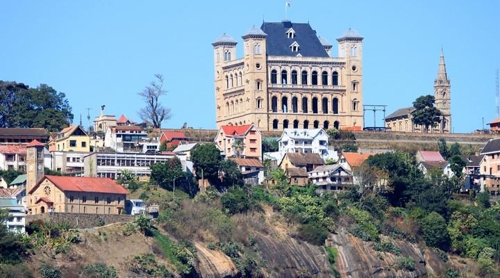 Paleis in Antananarivo