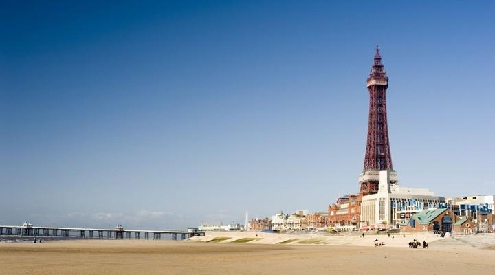 Vuurtoren Blackpool Engeland