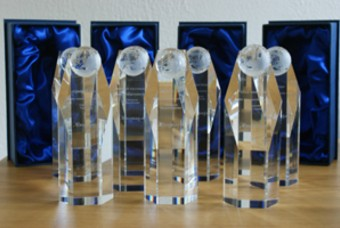 De awards die de winnaars kregen