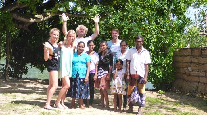 Groepsfoto met de hele familie