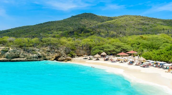 Curaçao staat bekend om z'n stranden