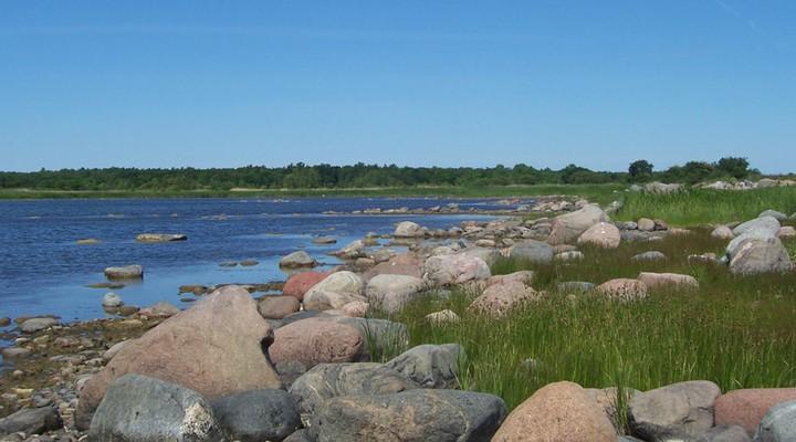 Landschap Saaremaa Estland