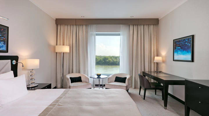 Grand Hotel River Park slaapkamer