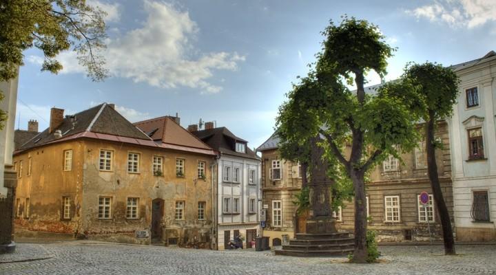 Plein in Olomouc - Tsjechië