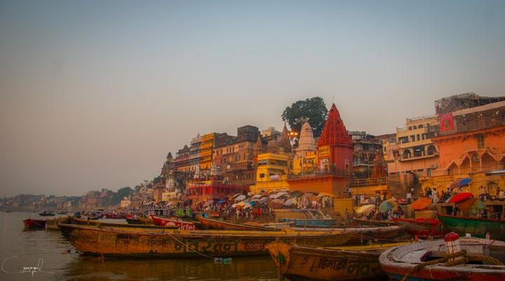 Varanasi, India, Ganghes