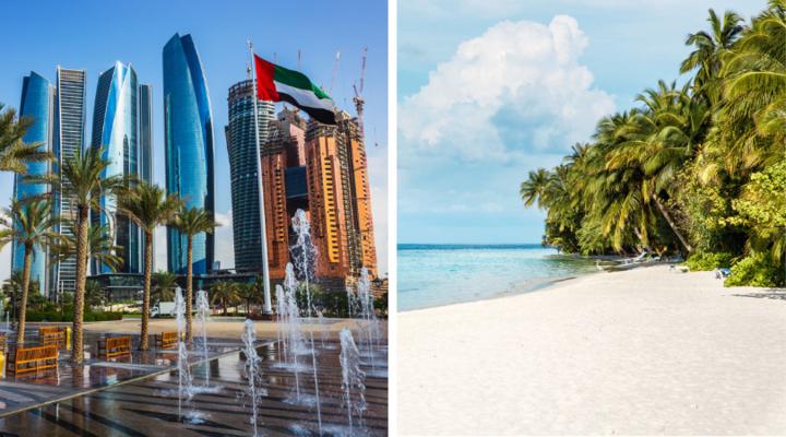 Abu Dhabi en de Malediven