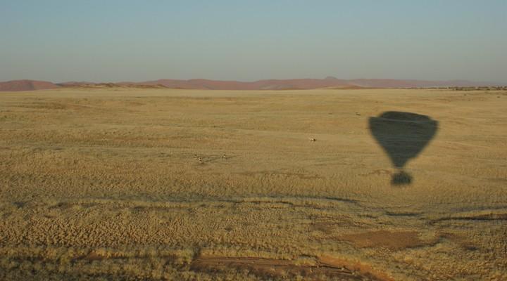 Ballonvaart Namibië, Sossusvlei