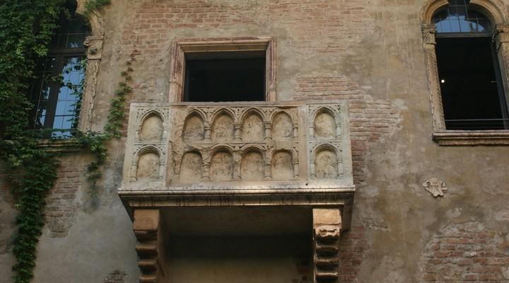 Huis Romeo en Julia, Verona, Italie