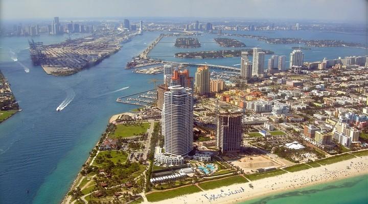 Skyline Miami - Verenigde Staten