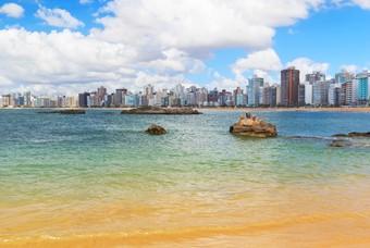 Strand Praia da Costa, Espirito Santo