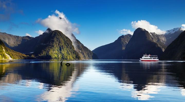 Milford Sound in Fjordland National Park