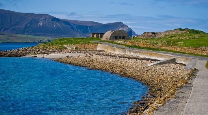 Landschap Orkney-eilanden, Schotland