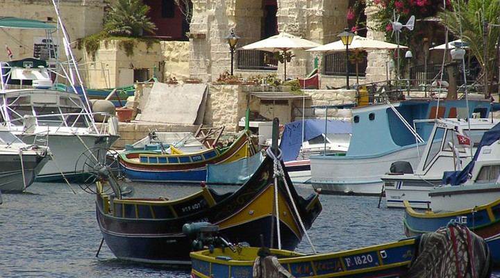 St Julians, bootjes, Malta