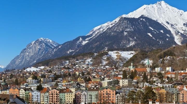 Berglandschap Innsbruck, Oostenrijk