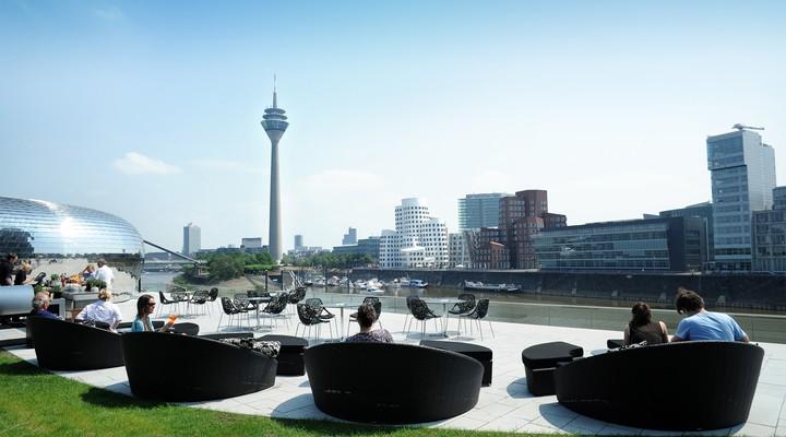 Mediahaven in Düsseldorf ©Düsseldorf Tourismus