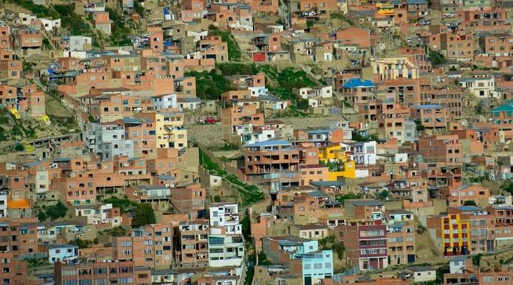 Huizen in La Paz