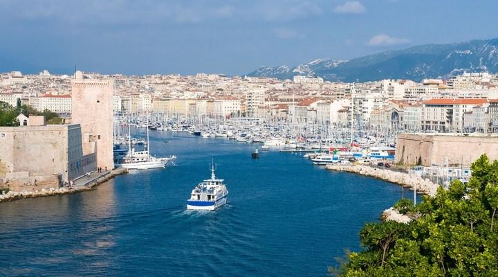 Oude haven van Marseille